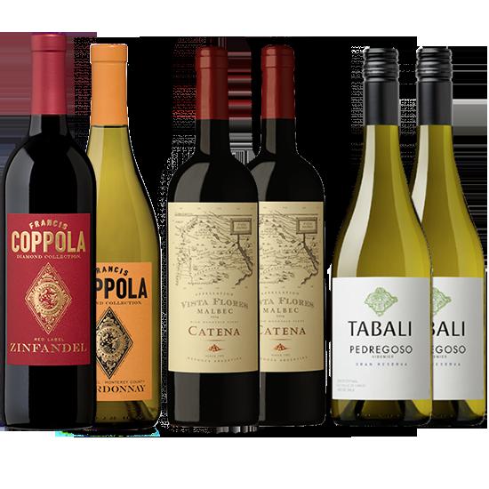 Wijnpakket - Beste van de 'Nieuwe Wereld'