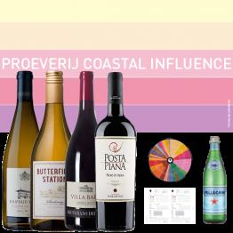 Thuis Wijnproeverij - DIY Wijnproeverij 'Coastal Influence' - 4 personen